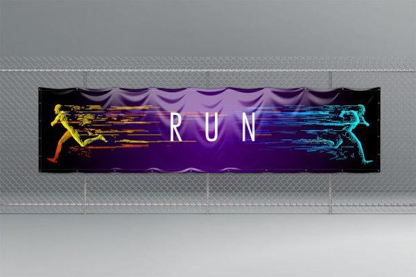 1x4 pvc banner