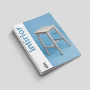 b format stapled booklet long edge