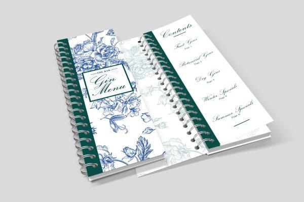 dl wiro bound booklet